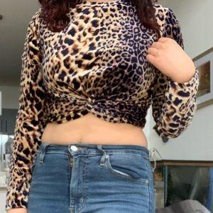 Fierce leopard print top 🐆